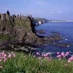 Dunluce Castle Co. Antrim, Northern Ireland.