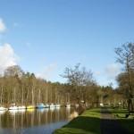 Six Mile Water Caravan Park, Co. Antrim, Northern Ireland.