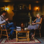 Bushmills Inn couple at fire