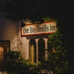 Bushmills Inn entrance - Evening