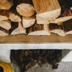Bushmills Inn logs and peat