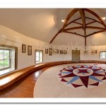 The Round Room. Bellaghy Bawn.