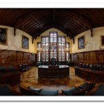 Council Chamber. Bangor Castle