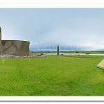 St Mary's Augustinian Priory and High Cross. Devenish Island