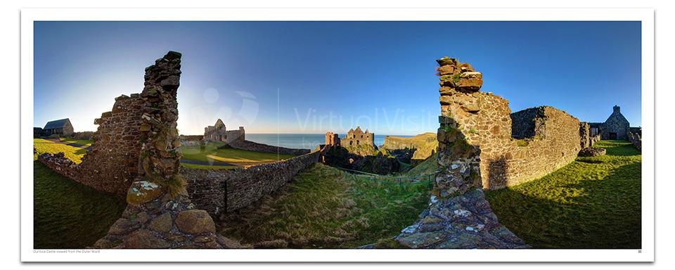 Dunluce Castle Outer Ward