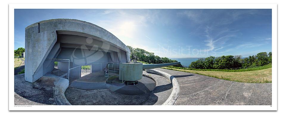 Grey Point Fort Gun Battery