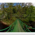 Inverted Bowstring Footbridge Roe Valley
