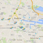Map of National Museums of Ireland