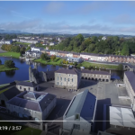 Enniskillen Castle from the air