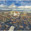 360° Aerial Photograph above East Belfast