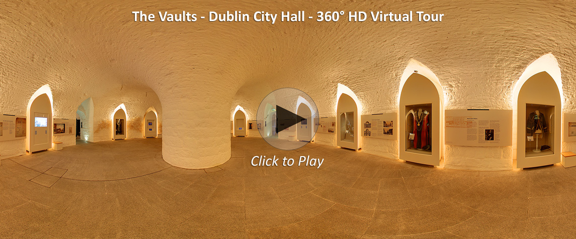 Vaults at Dublin City Hall