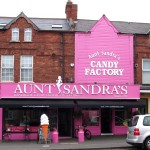 Aunt Sandra's Candy Factory, Belfast, Northern Ireland.