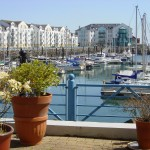 Carrickfergus Marina, Co. Antrim, Northern Ireland.