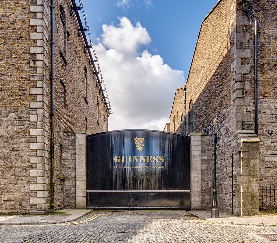 Guinness Storehouse. Visitor Attraction in Dublin, Ireland