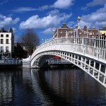 Ha'penny Bridge Dublin, Places to See | Dublin, Ireland.