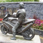 Joey Dunlop Memorial Garden, Co. Antrim, Northern Ireland.