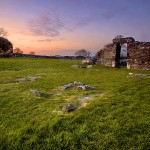 Nendrum Monastic Site, Co. Down, Northern Ireland.