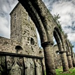 Newtownards Priory, Co. Down, Northern Ireland.