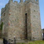 Portaferry Castle, Co. Down, Northern Ireland.