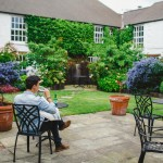 Bushmills Inn garden