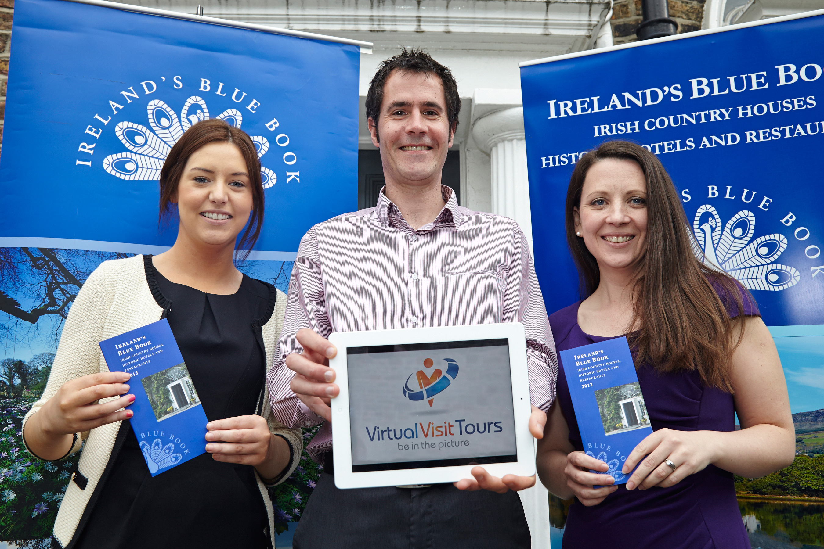 Ireland's Blue Book partners with Virtual Visit Tours