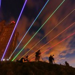 Global Rainbow at Scrabo Tower