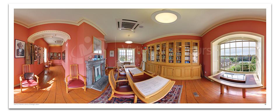 Seamus Heaney Library. Bellaghy Bawn.