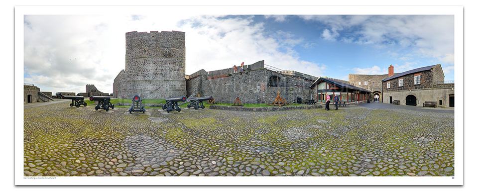 Carrickfergus Castle Courtyard
