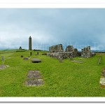 St. Molaise's Church and Graveyard. Devenish Island
