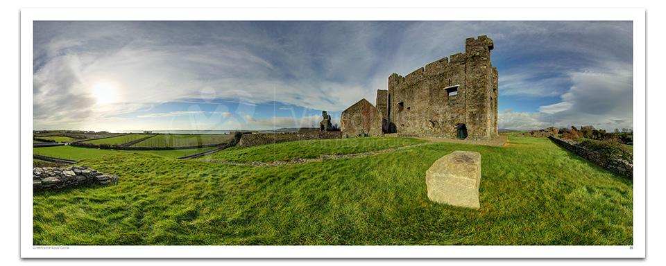 Greencastle Royal Castle Exterior