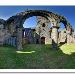 Inside Newtownards Priory