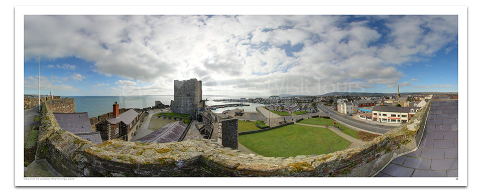 View from the Gatekeep of Carrickfergus Castle