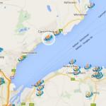 Map of St Nicholas' Church Carrickfergus