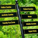 Signpost Carnfunnock Country Park