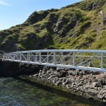 Gobbins Cliff Path Bridge