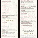 Friels Bar And Restaurant Dinner Menu